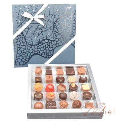 Boite Nuit de Noël 25 chocolats - 90g