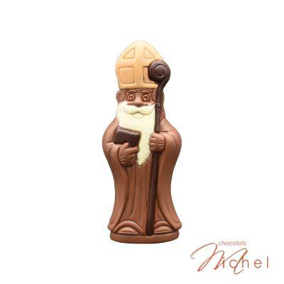 Saint Nicolas moulage lait - 18,5 cm - 90g