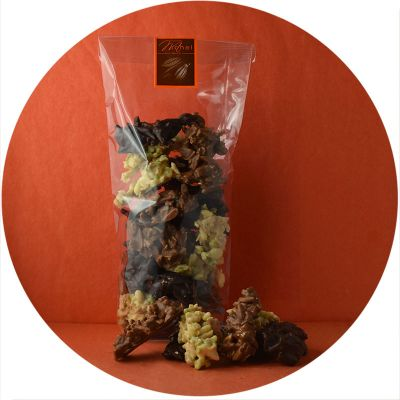 Sachet rochers assortis 150g