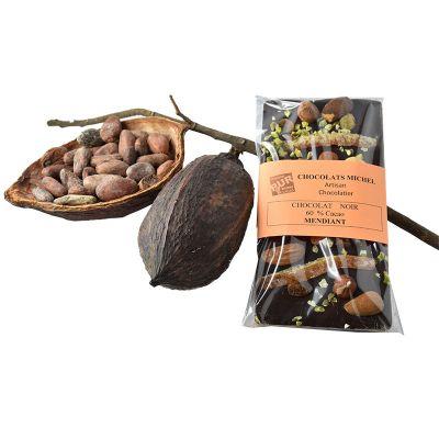 Tablette Mendiant chocolat noir - 100g